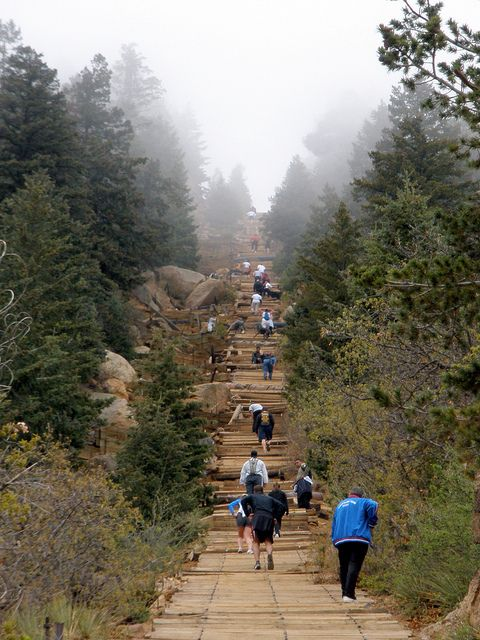 Manitou Springs Incline, CO #manitousprings