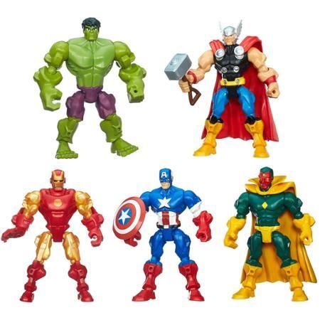 Micro Ultron /& Black Widow Super Hero Mashers Hulk Smash Force Figure Set