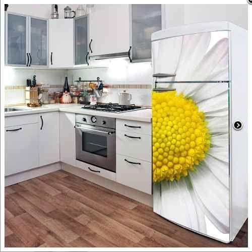 Vinilos decorativos cocina heladera personalizados deco for Heladera y cocina juntas