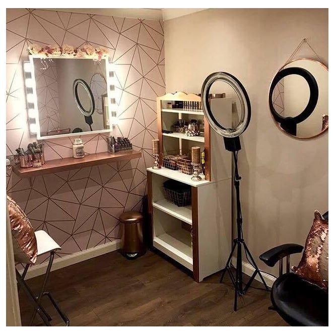 Zara Shimmer Metallic Wallpaper Soft Pink Rose Gold Ilw980111