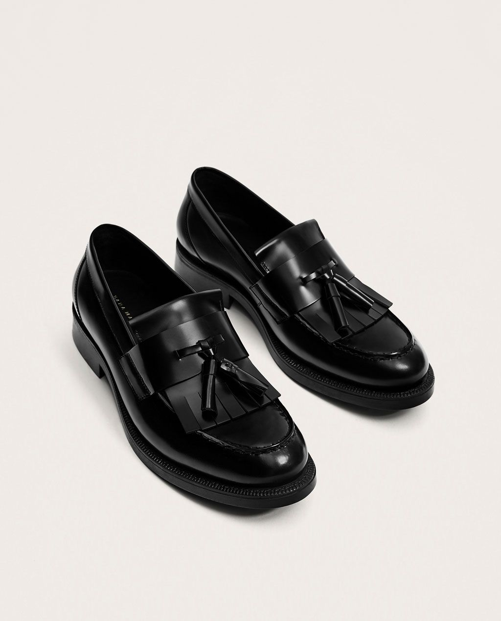 wingtip loafers with flap Santoni NEGROGRIS  BRSWG0SOA
