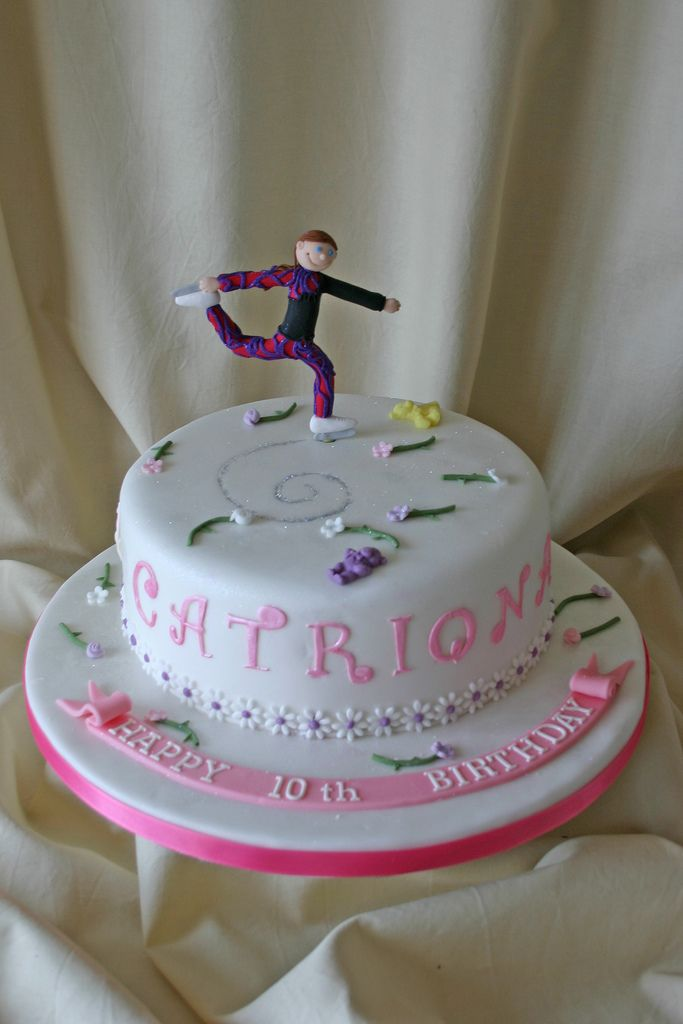 Birthday Cake 374 Ice Skating Birthday Cakes And Cake