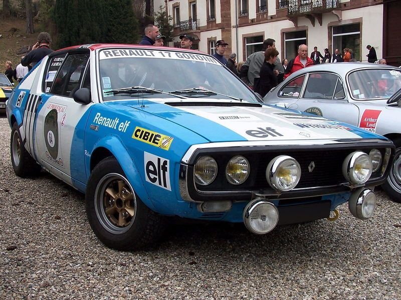 Renault 17 gordini rally garage id al renault 15 17 for Garage renault a troyes