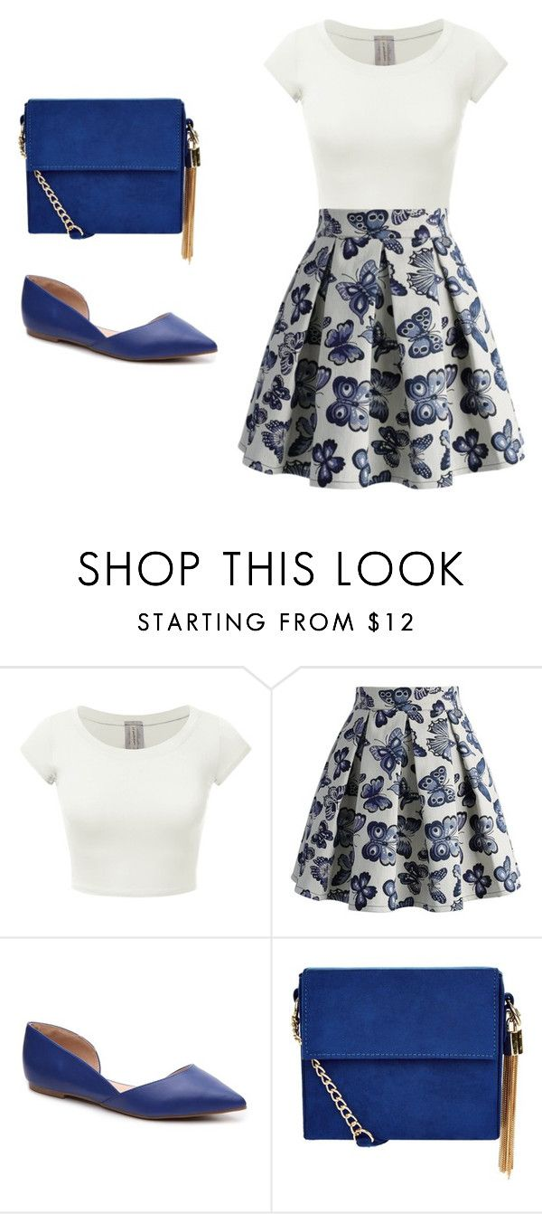 """Untitled #134"" by lghedger ❤ liked on Polyvore featuring Chicwish, Journee Collection and New Look"