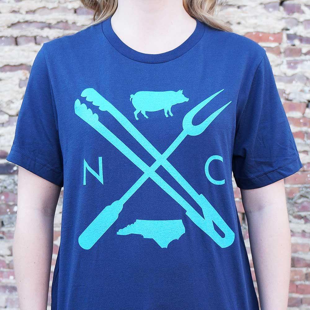 North Carolina Barbecue T Shirt Barbecue Shirts North Carolina