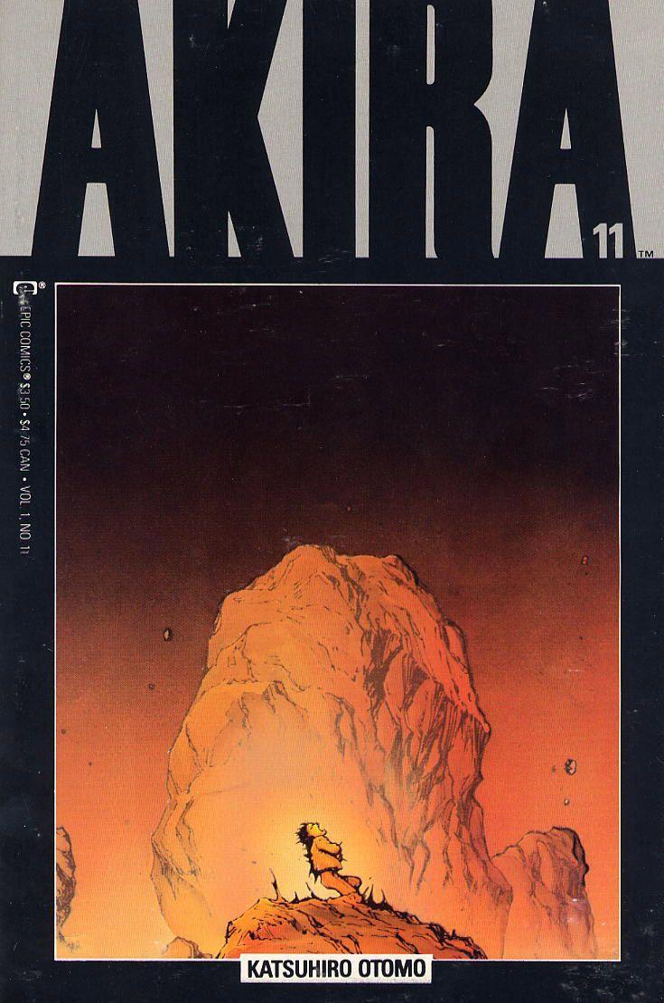 Akira Covers For Epic Comics Akira Manga Akira Katsuhiro Otomo
