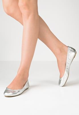 Silver ballerinas from Pier One