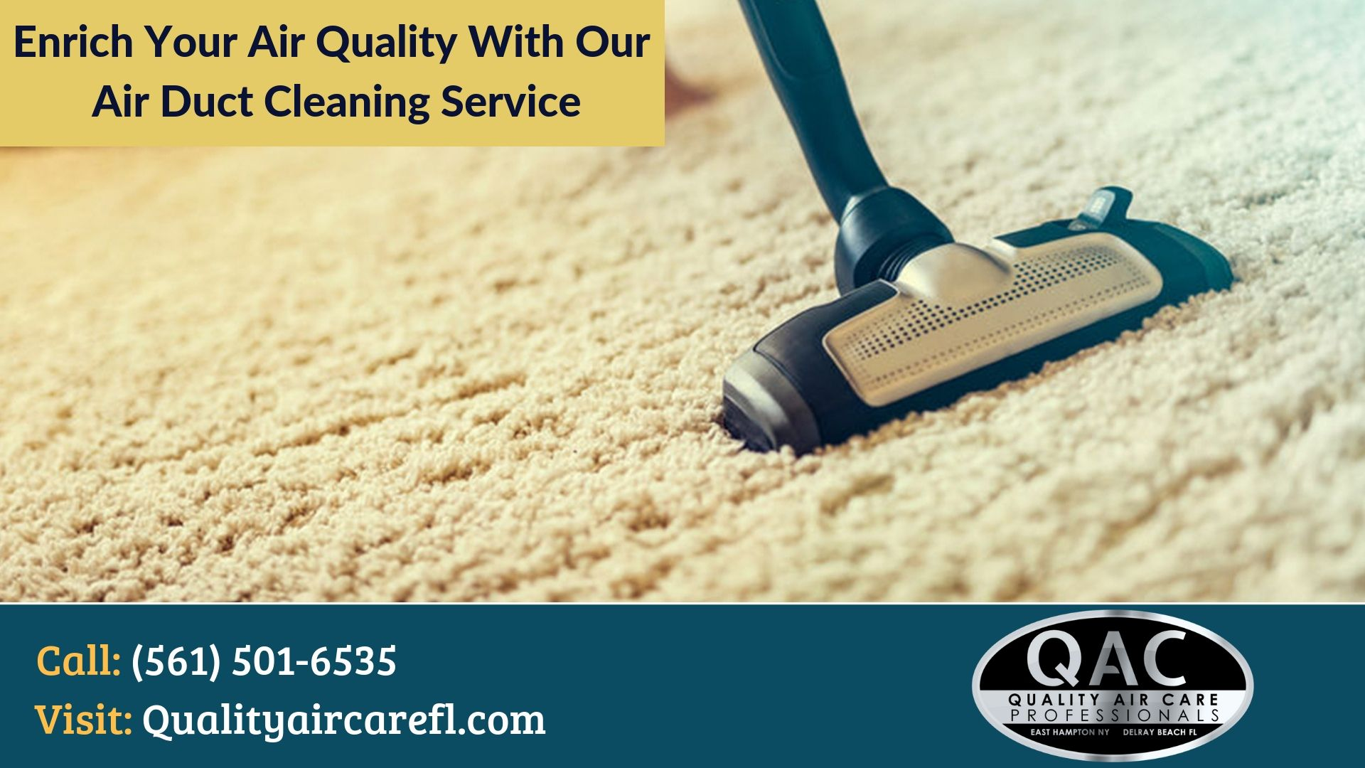 Our South Florida Air Duct Cleaning Services Air care