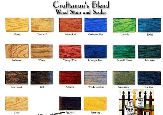 Beginner Project Colors Of Wood Stain And Learn How To Make Natural Wood Stains Http Blog Diyn Staining Wood Wood Stain Colors Wood Stain Color Chart