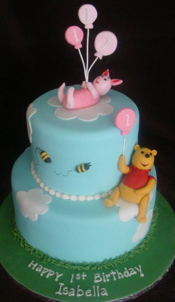 Baby Girls 2nd Birthday Cake