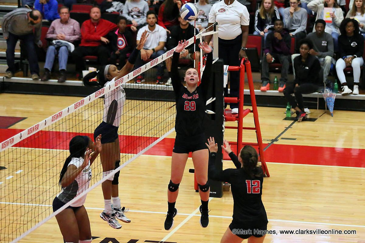 Instant Peay Play Hot Apsu Volleyball Team Set To Host Key Homestand Clarksville Tn Online Volleyball Team Volleyball Teams