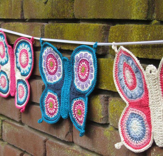 Crochet Butterfly Pattern Pdf Pattern Tricot Et Crochet