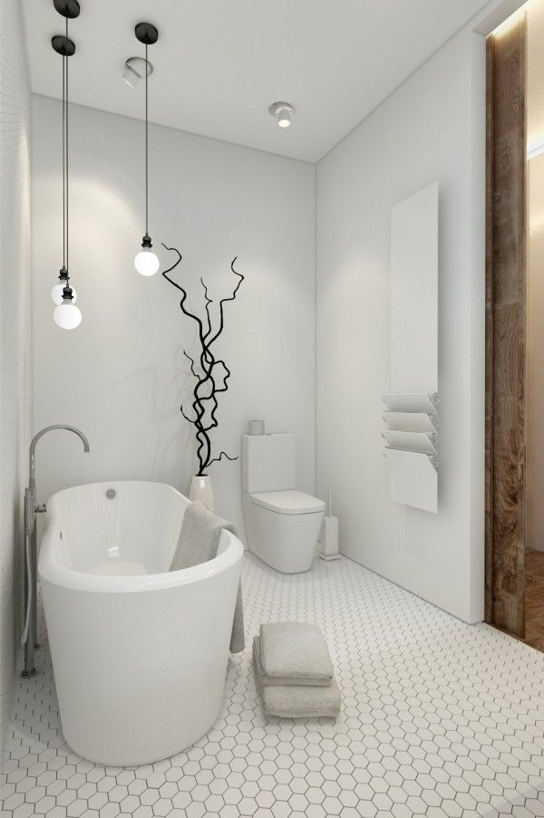 Modernsoakingtub In Small Spaces Investment Property - Designing for small spaces 3 beautiful micro lofts