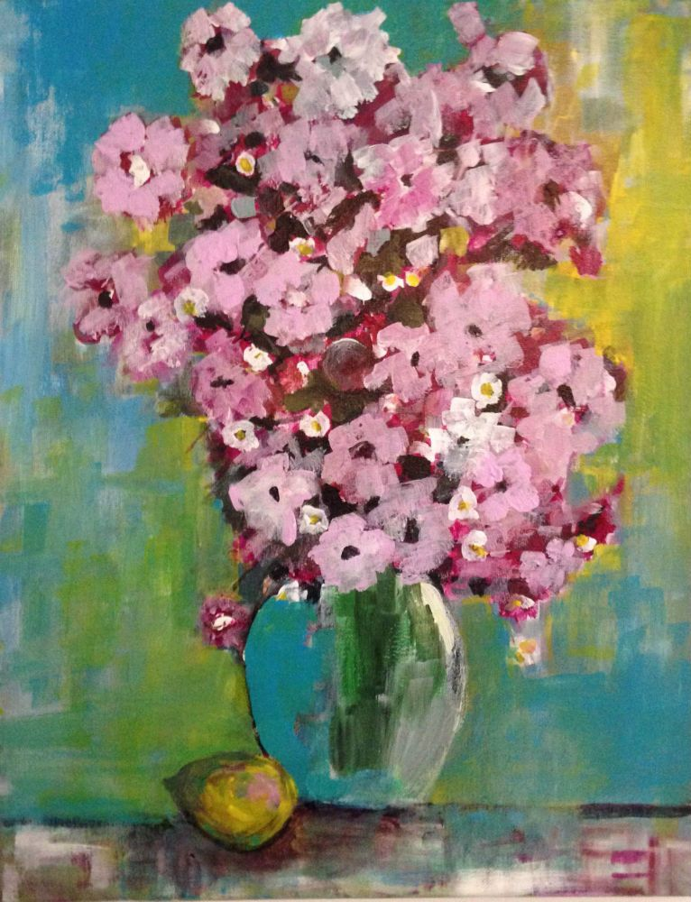 Flower Bouquet - http://www.contemporary-artists.co.uk/paintings ...