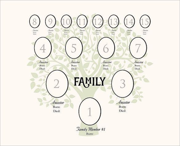 digital family tree template example 4 generation family tree digital template beautiful template design ideas