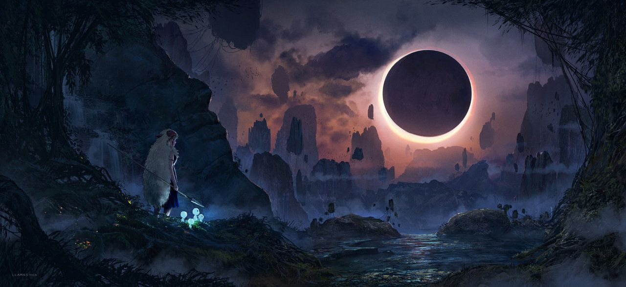Eclipse by FlorentLlamas on DeviantArt | Art - Science