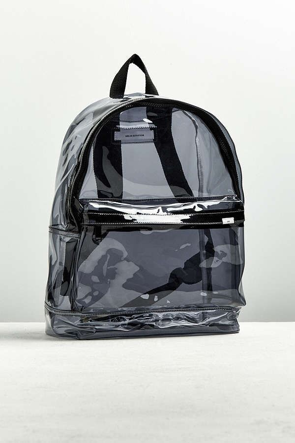 Slide View  1  UO Clear Backpack Hipster Fashion 99268a649dfc9