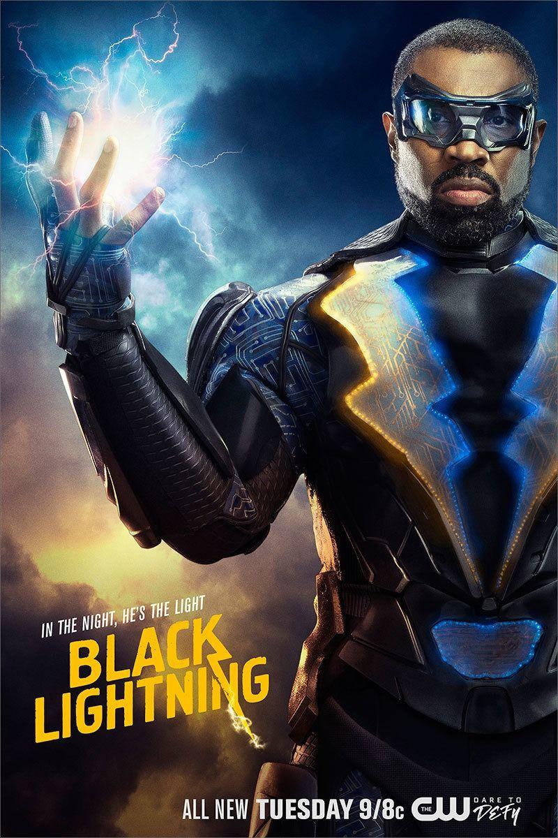 Dc S Black Lightning Black Lightning Tv Show Black Lightning Black Lightening