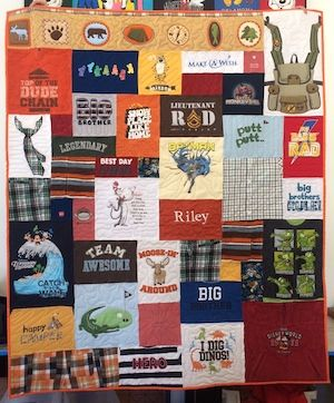 Your portal for accessing 100's of articles about T-shirt quilts.