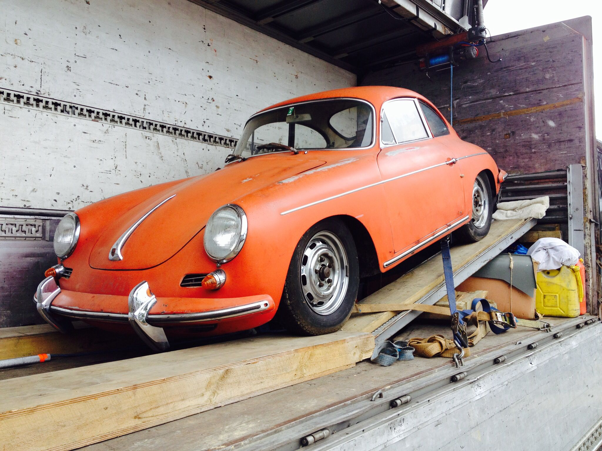 Classic Porsche Its A Barn Find And Yes In New Zealand