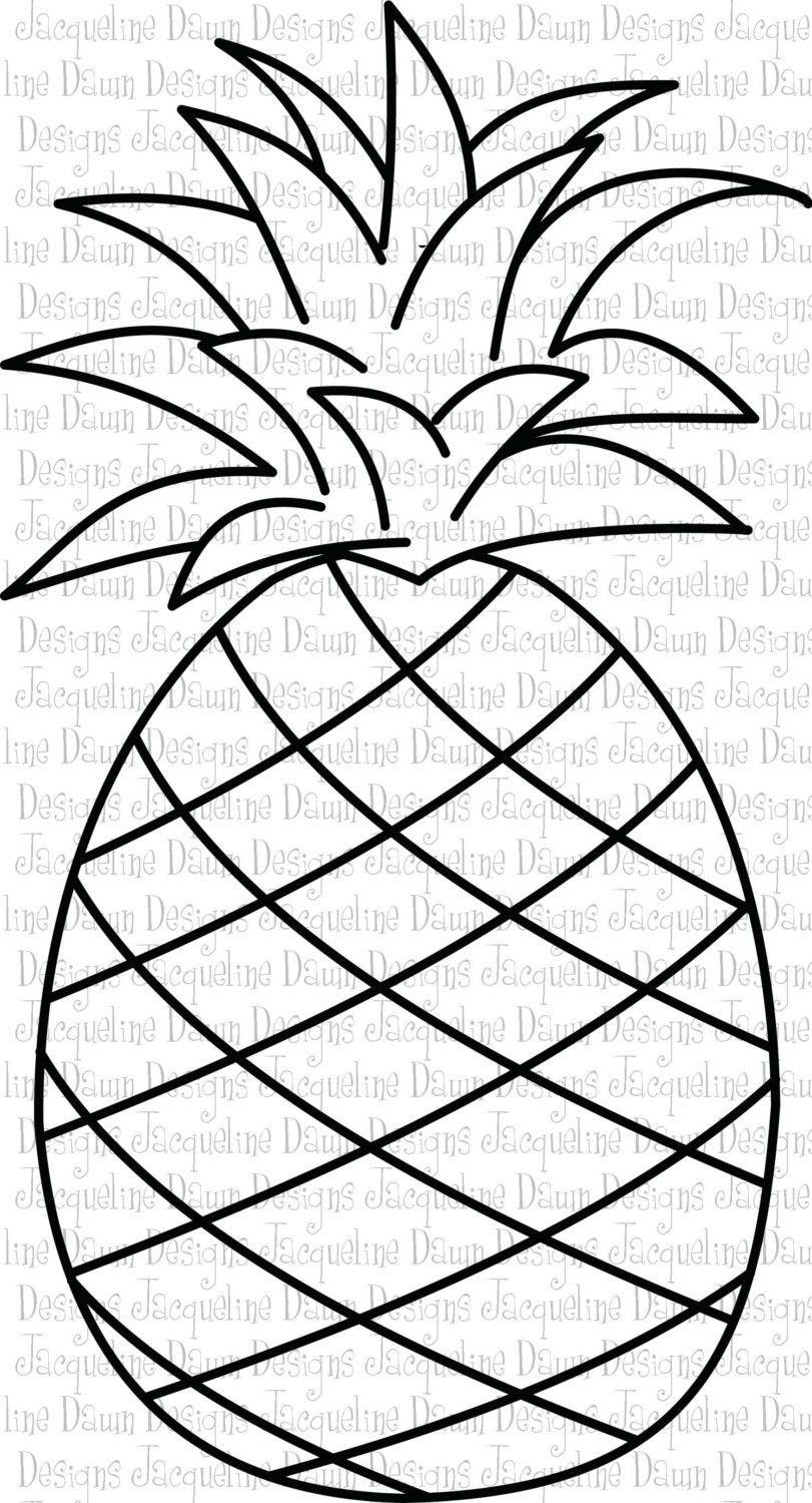 pineapple clipart black and white - Google Search | NEW ...