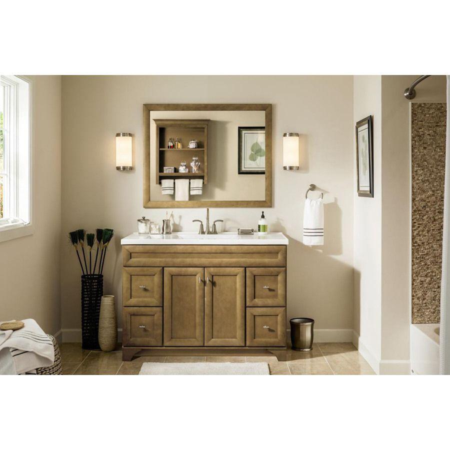 shop diamond hanbury tuscan traditional bathroom vanity on lowes vanity id=16244