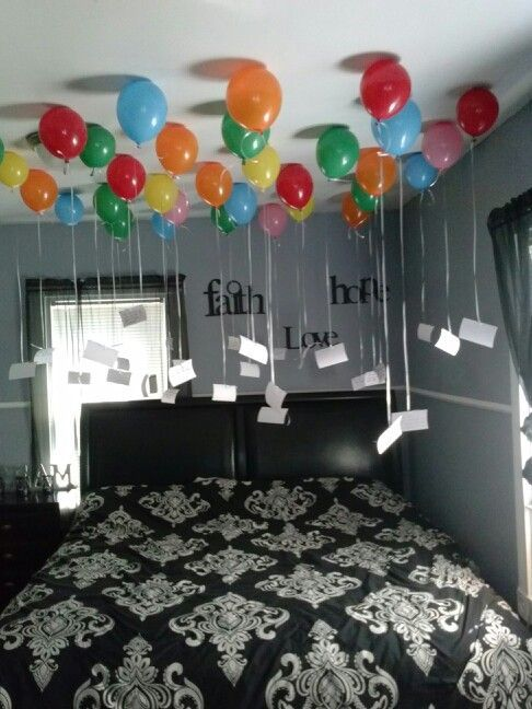 Birthday decoration pictures at home for husband also th pinterest rh
