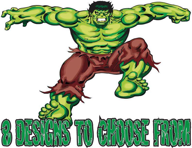 the Hulk  T-shirt personalised Birthday T-shirt