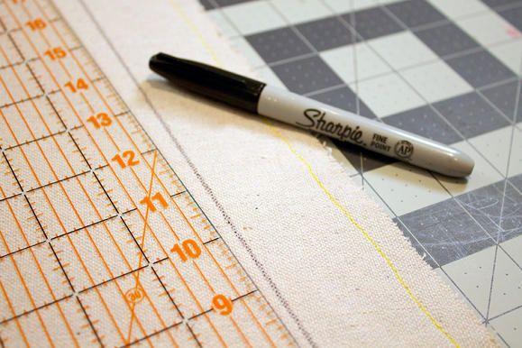 Tente de bricolage pour les enfants mesurant tissu