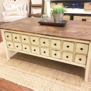 Ryobi Nation Coffee Table With Drawers Antique Coffee Tables