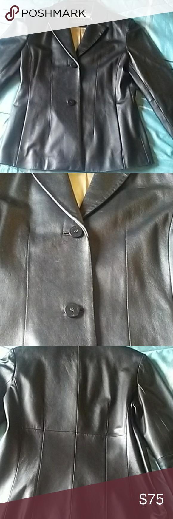 ⭐WILSON'S PELLE STUDIO Women's Leather Jacket Leather