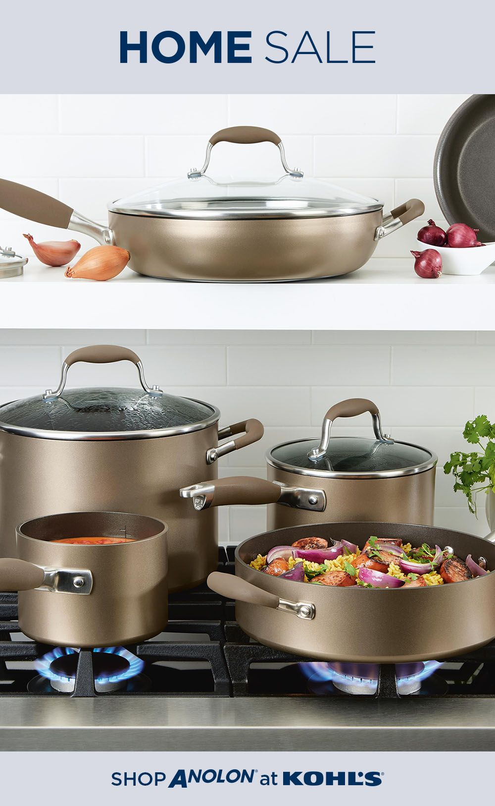 Find Cookware At Kohl S Check Out Our Home Sale Through October