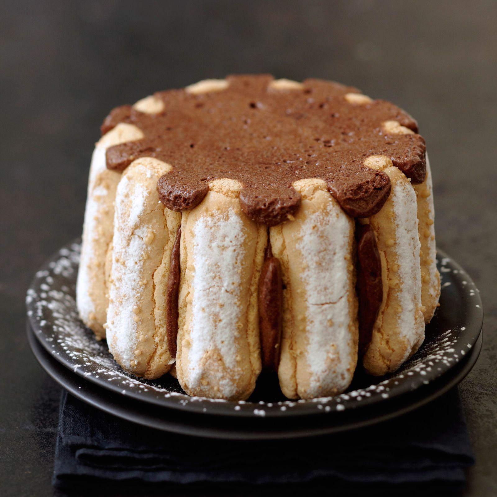 Recette Charlotte Au Chocolat Sans Oeuf charlotte au chocolat tupperware
