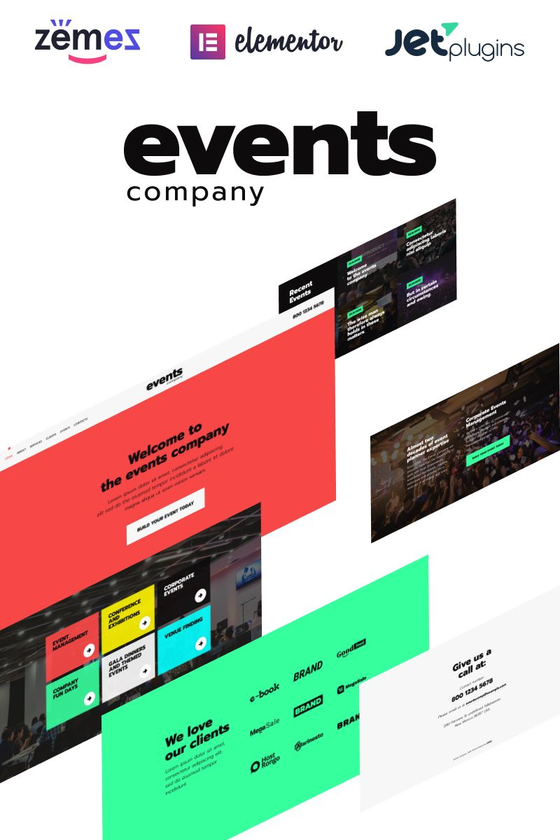 Custom website design party supplies entertainment company entrust.