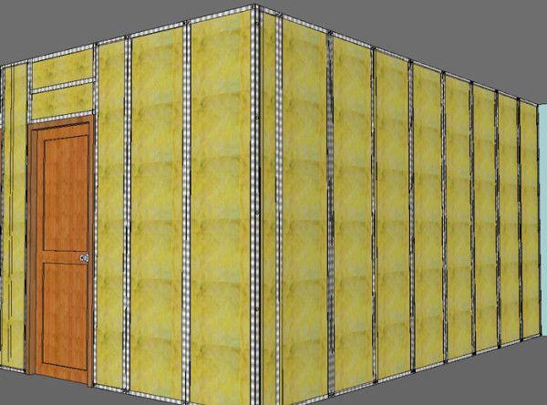Cloisons en Placo-Plâtre BA13 comment faire Construction - faire des travaux dans sa maison