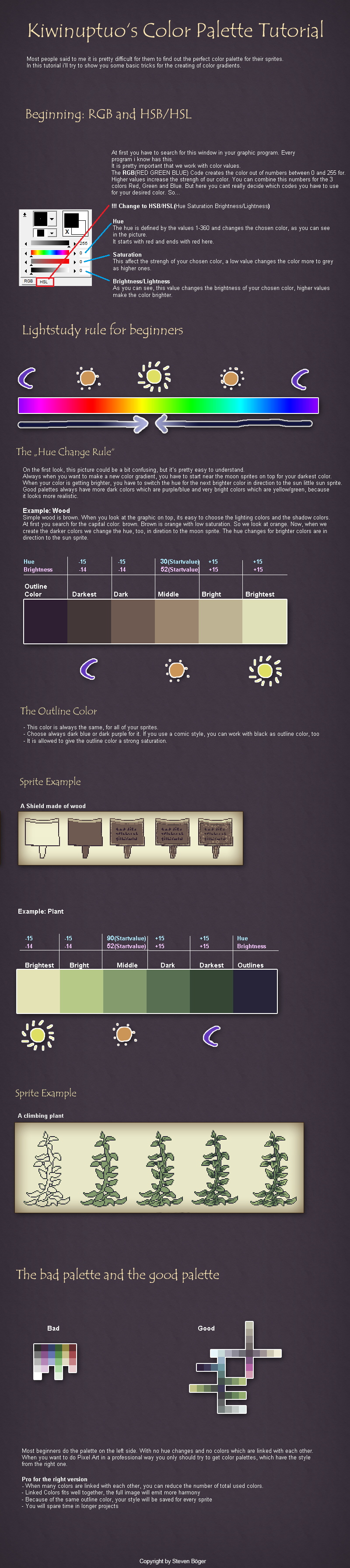Game color theory - A Great Guide To Selecting Colors For Your Pixel Art Or Art In General