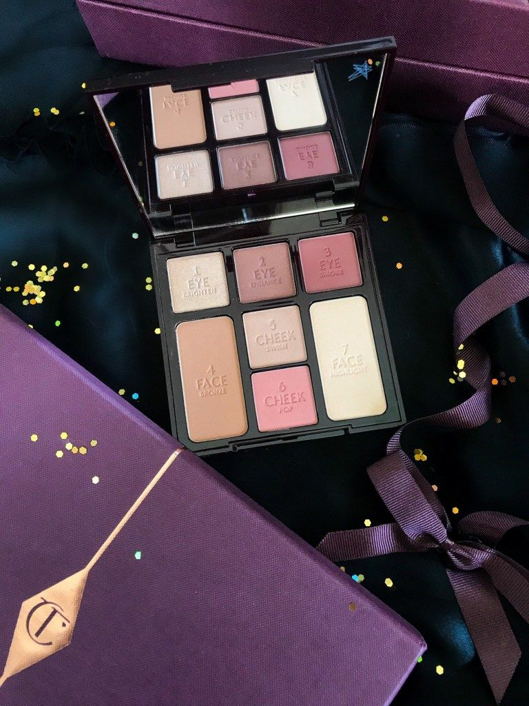 Charlotte Tilbury Instant Look In A Palette Gorgeous Glowing Palette Review And Swatches Cat S Daily Living Glow Palette Charlotte Tilbury Tilbury