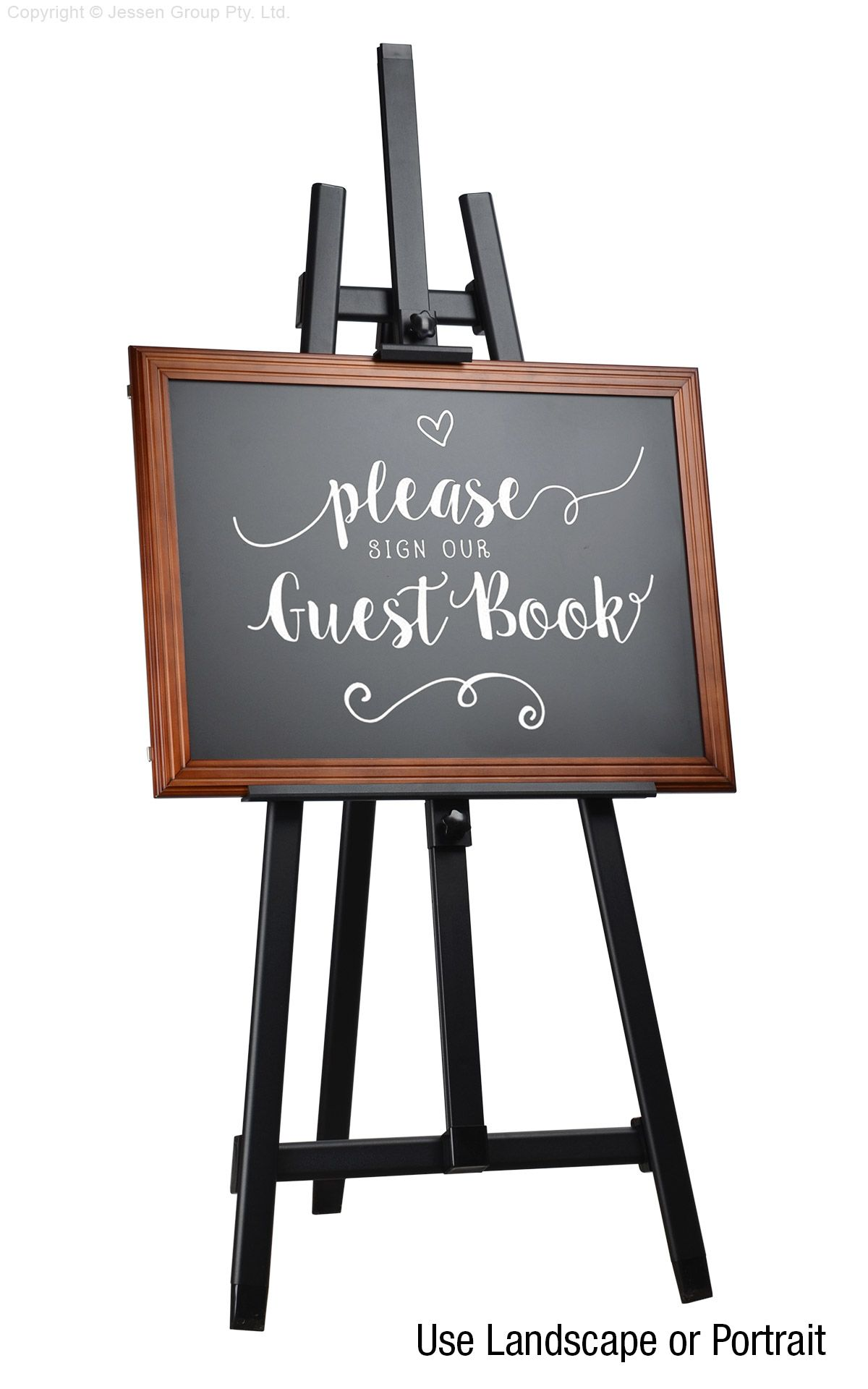 Free Standing Chalkboard Blackboard Weddings Restaurant Cafes Events Menus Shop Business Industrial Business Signs