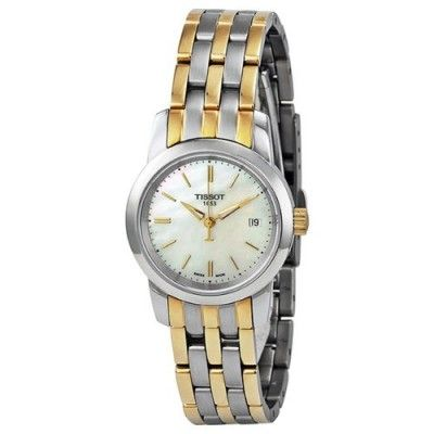 901213e0320b8 Relógio Tissot Classic Dream Mother of Pearl Dial Ladies Watch  T0332102211100  Relogio  Tissot