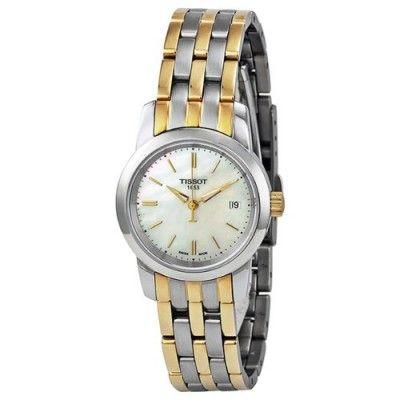 ebc37a2c03f Relógio Tissot Classic Dream Mother of Pearl Dial Ladies Watch  T0332102211100  Relogios  Tissot