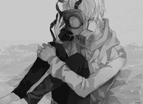 I am in love with Gas masks