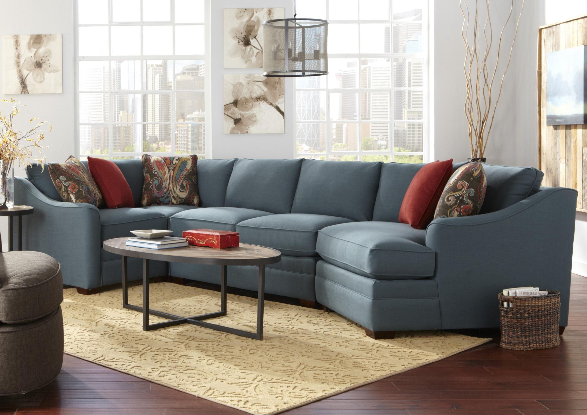 Best F9 Custom Collection 4 Pc Custom Built Sectional By 400 x 300