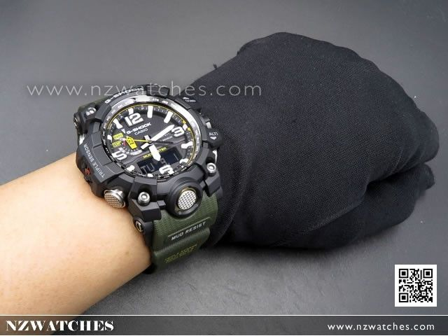 BUY Casio G-Shock MUDMASTER Triple Sensor Solar Multiband 6 Watch  GWG-1000-1A3 819575860a1b