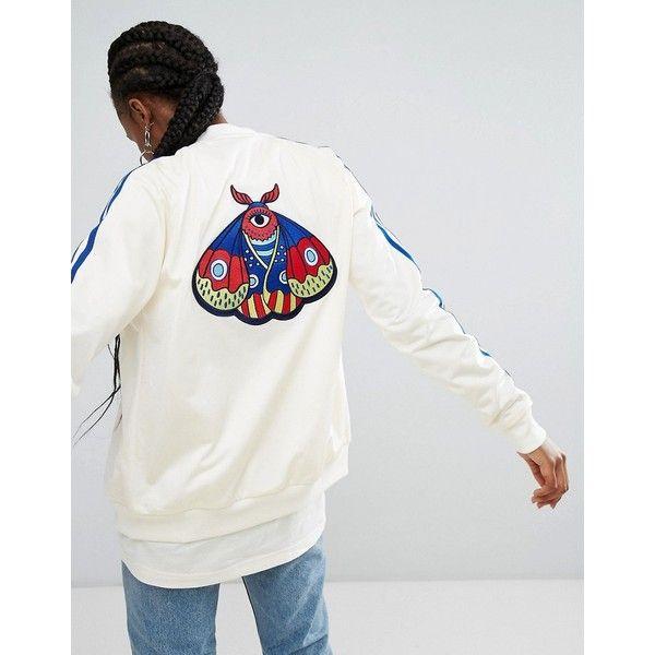 adidas Originals Embellished Arts Bomber Jacket With