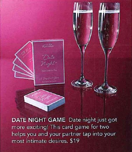 romantic dating night games Put some fun in your relationship with a game for two try this out tonight.
