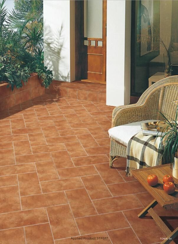 Outdoor Patio Porcelain Tile Non Slip Ceramic Outside Four