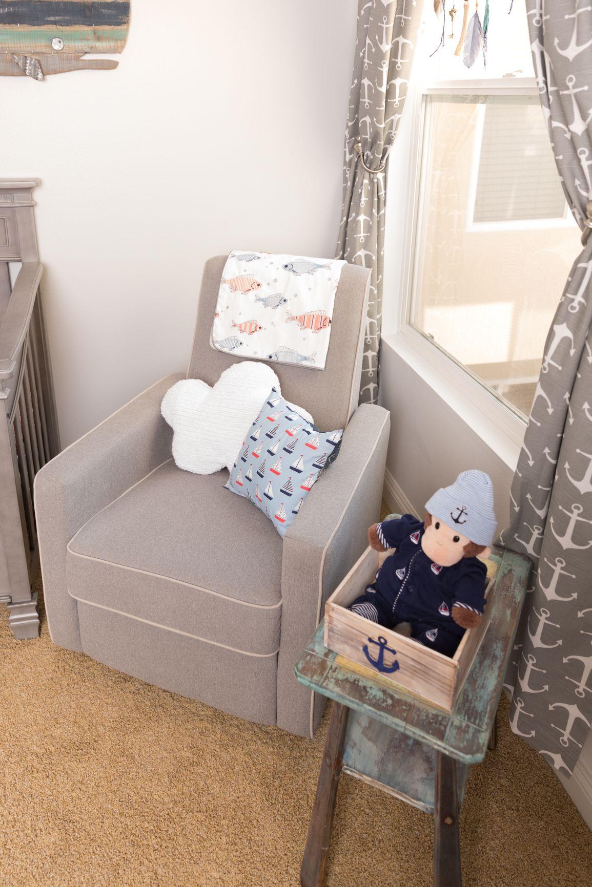 Nautical Baby Boy Nursery Room Ideas: Amy Davidson's Nautical Nursery