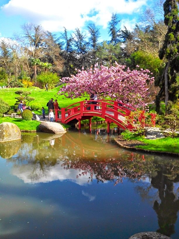 Jardin japonais à Toulouse France