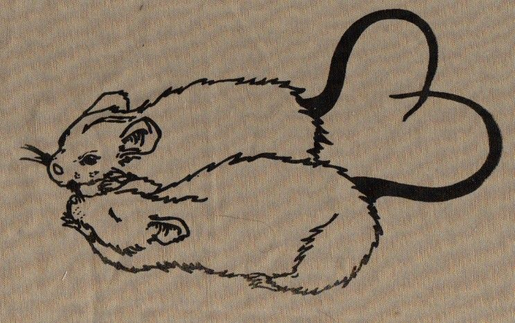 Rat Print Would Make Great Tattoo Rat Tattoo Cute Rats Body Art Tattoos
