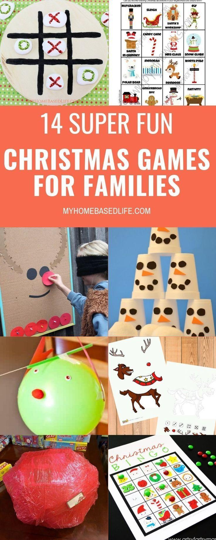 Christmas Games for Families | My Home Based Life